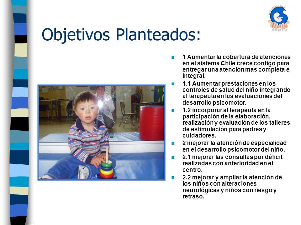 Objetivos Planteados: