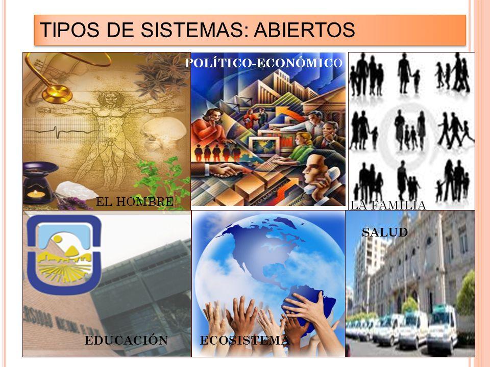 TIPOS DE SISTEMAS: ABIERTOS