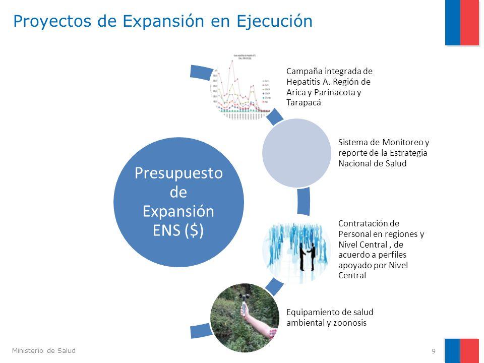 Proyectos de Expansión en Ejecución