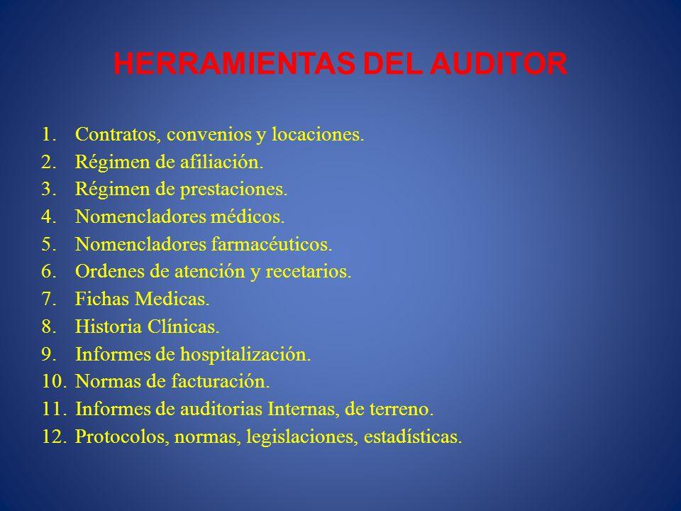 HERRAMIENTAS DEL AUDITOR
