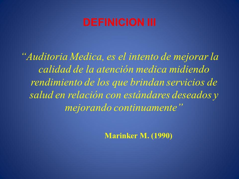 DEFINICION III