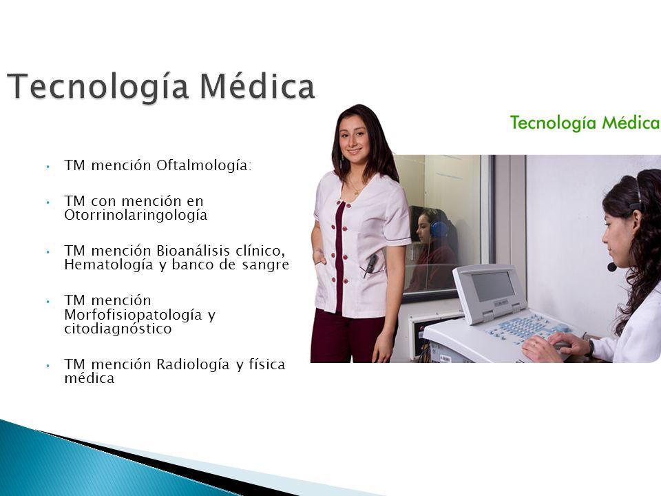 Tecnología Médica TM mención Oftalmología: