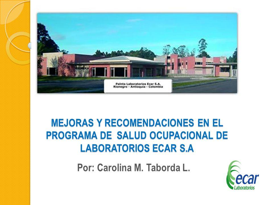 Por: Carolina M. Taborda L.
