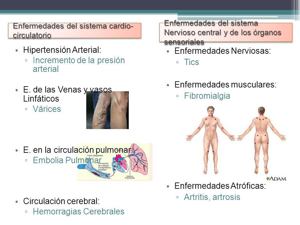 Hipertensión Arterial: Incremento de la presión arterial