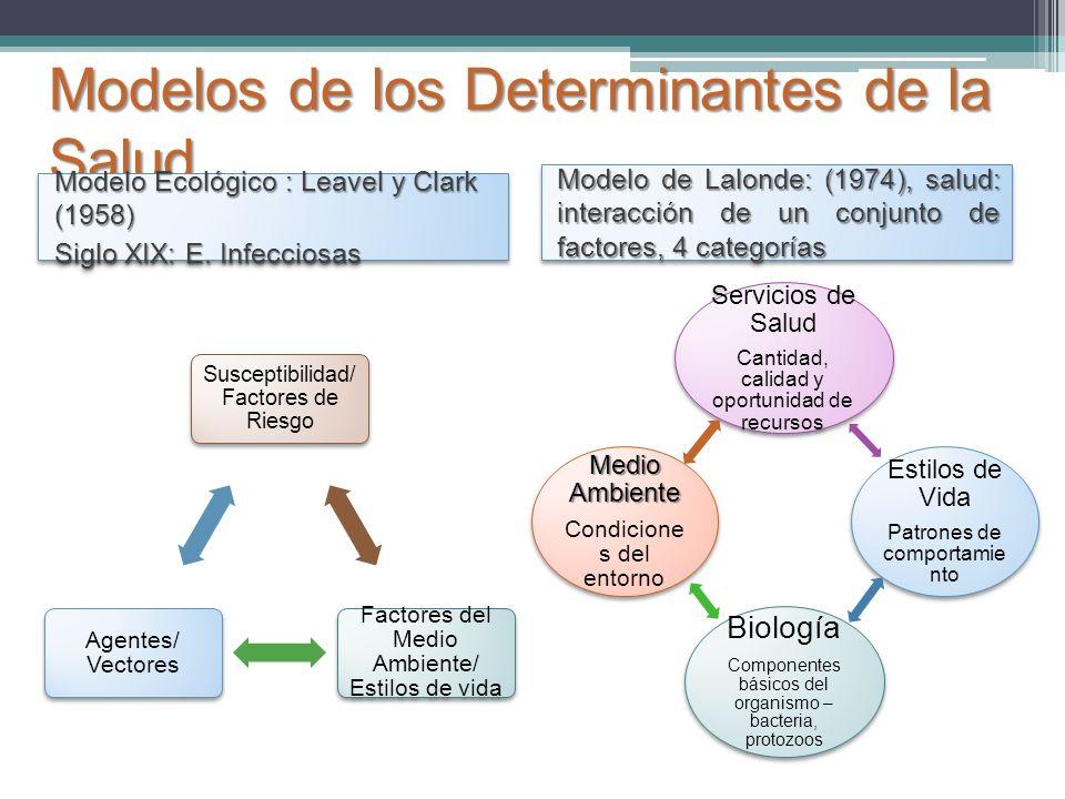 Modelos de los Determinantes de la Salud