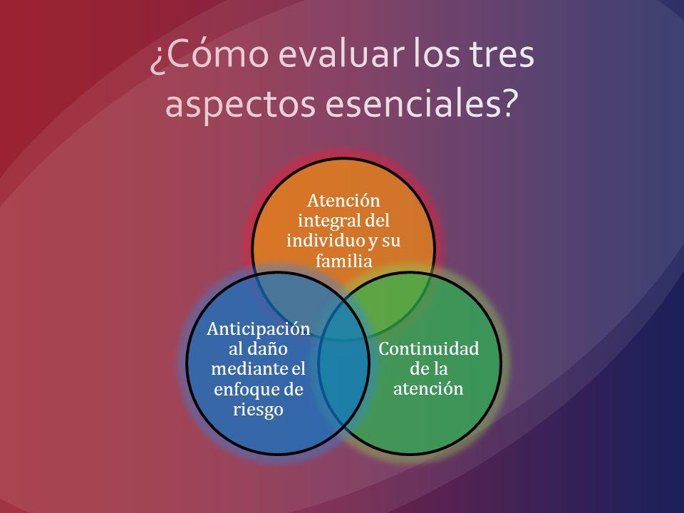 ¿Cómo evaluar los tres aspectos esenciales