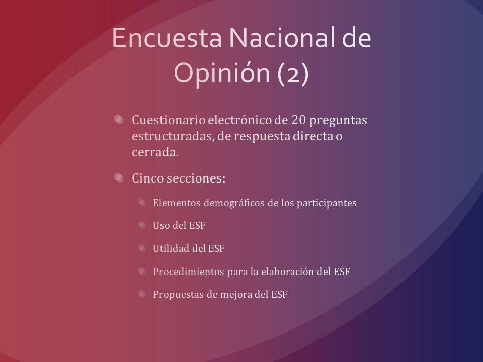 Encuesta Nacional de Opinión (2)