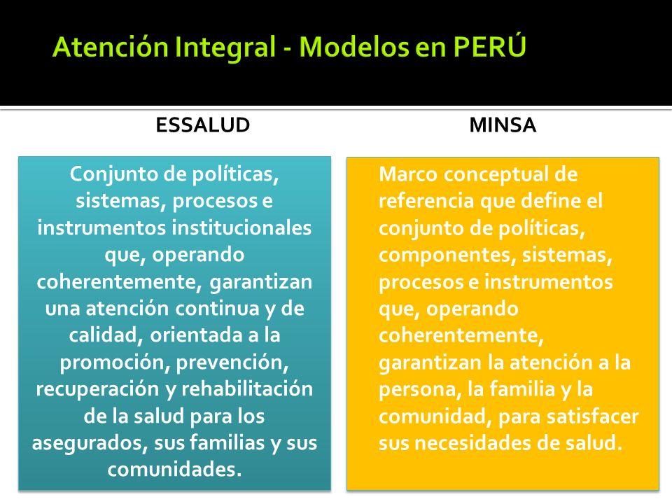 Atención Integral - Modelos en PERÚ
