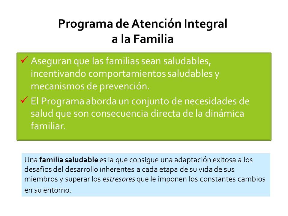 Programa de Atención Integral a la Familia