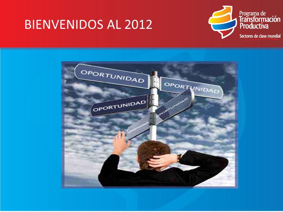 BIENVENIDOS AL 2012