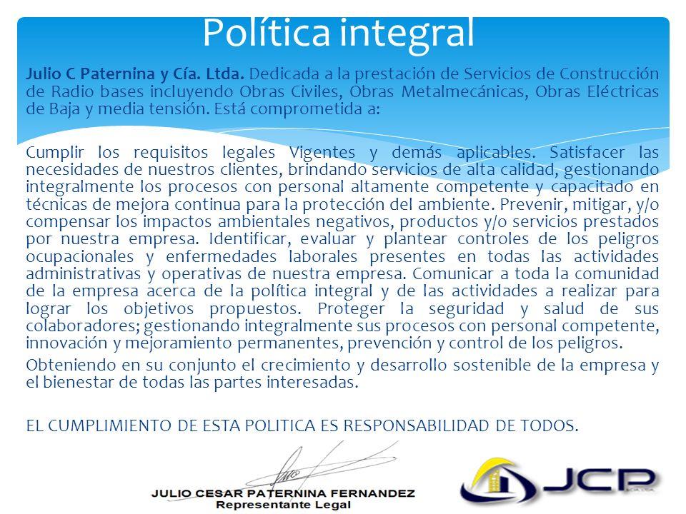 Política integral