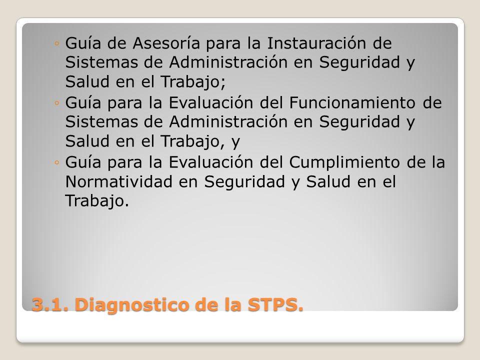 Guía de Asesoría para la Instauración de Sistemas de Administración en Seguridad y Salud en el Trabajo;