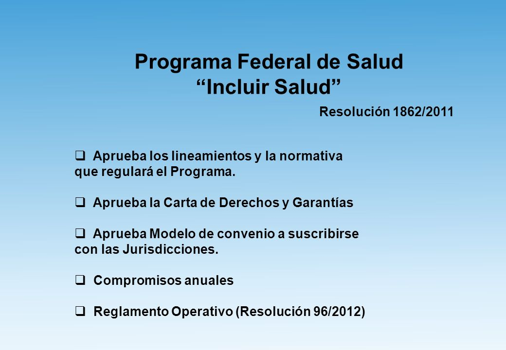 Programa Federal de Salud