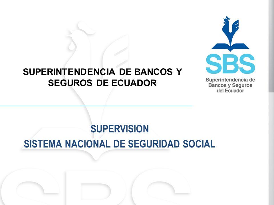 SUPERVISION SISTEMA NACIONAL DE SEGURIDAD SOCIAL
