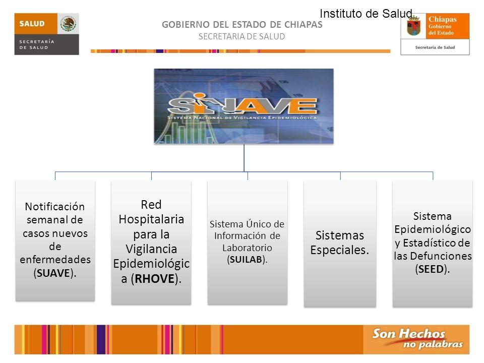 Red Hospitalaria para la Vigilancia Epidemiológica (RHOVE).