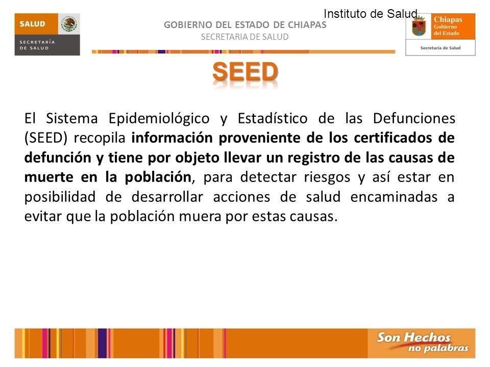 Instituto de Salud SEED.