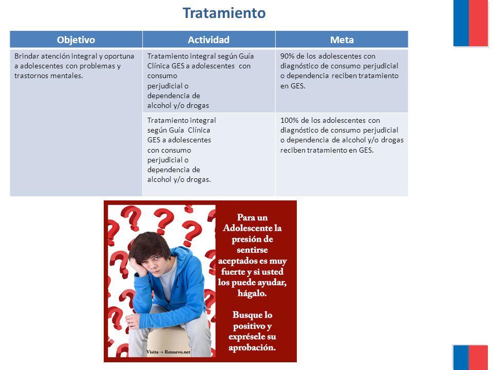 Tratamiento Objetivo Actividad Meta