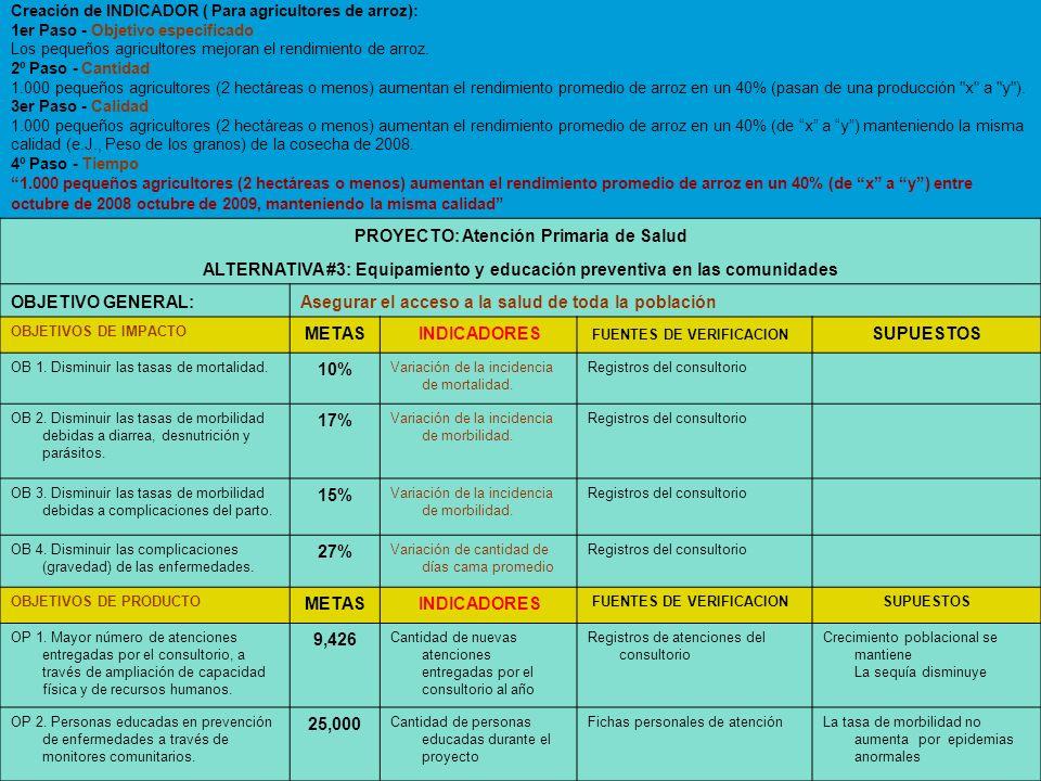 PROYECTO: Atención Primaria de Salud