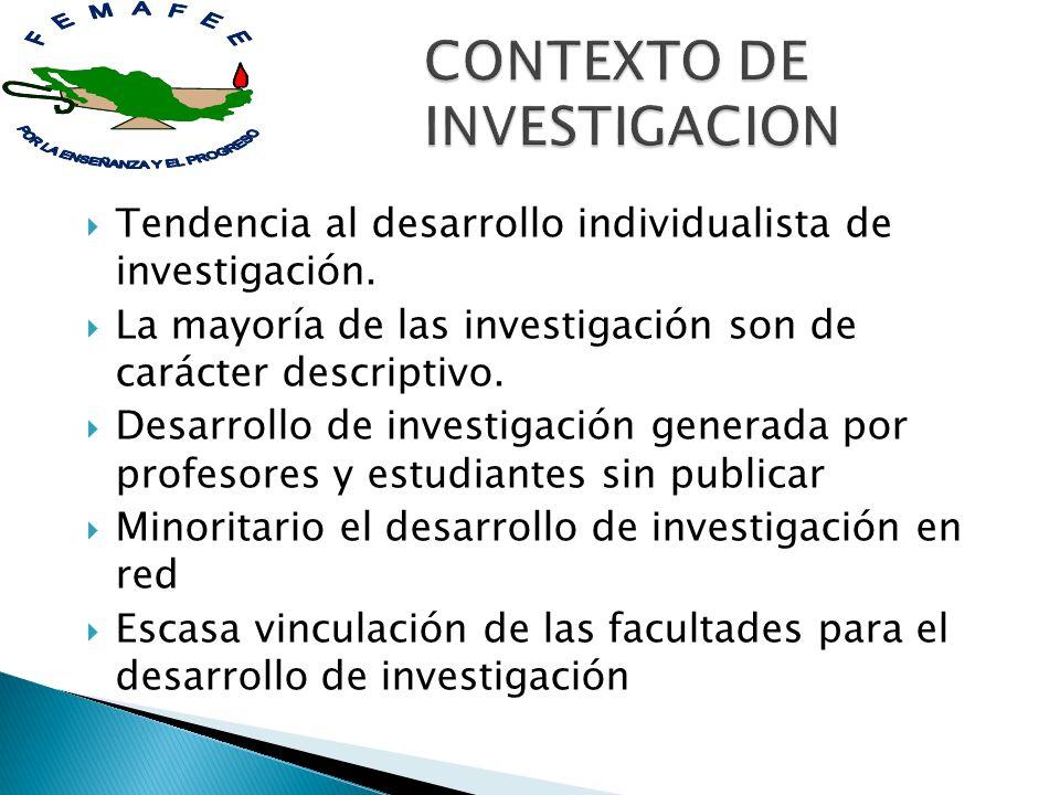 CONTEXTO DE INVESTIGACION