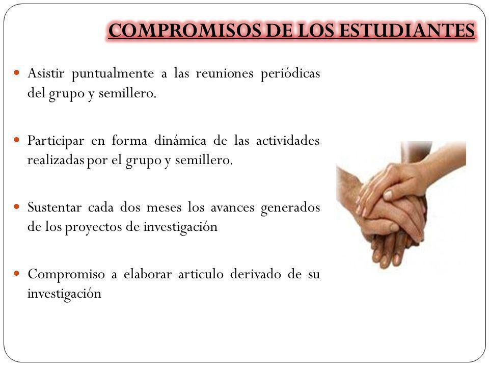 COMPROMISOS DE LOS ESTUDIANTES