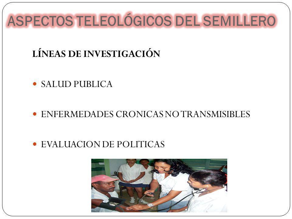 ASPECTOS TELEOLÓGICOS DEL SEMILLERO
