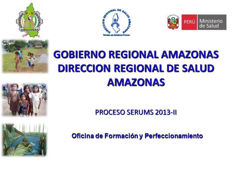 DIRECCION REGIONAL DE SALUD AMAZONAS