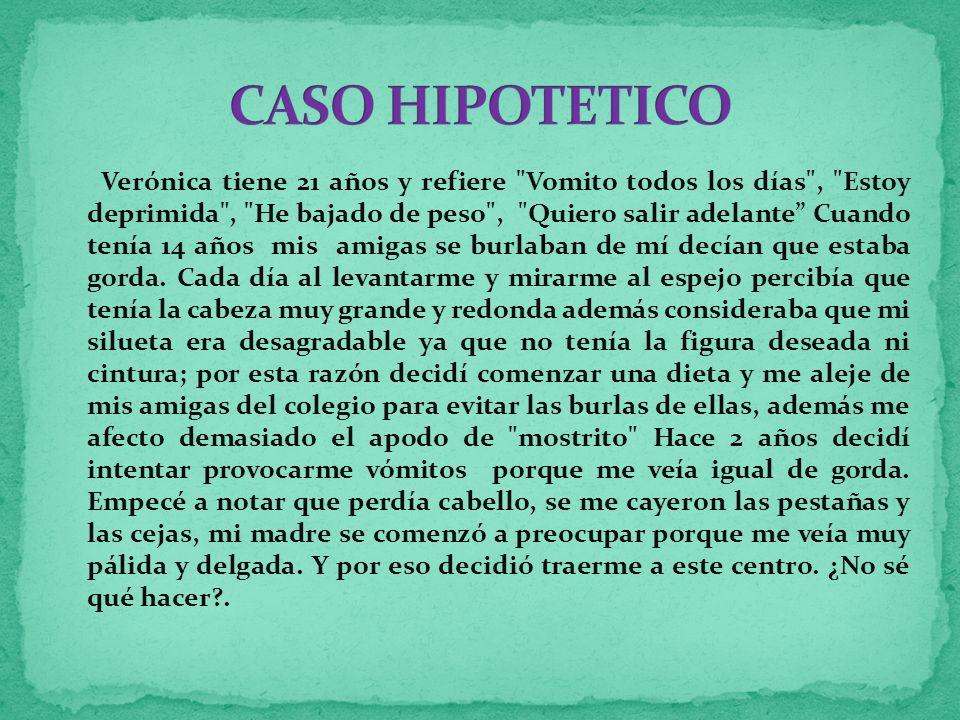 CASO HIPOTETICO