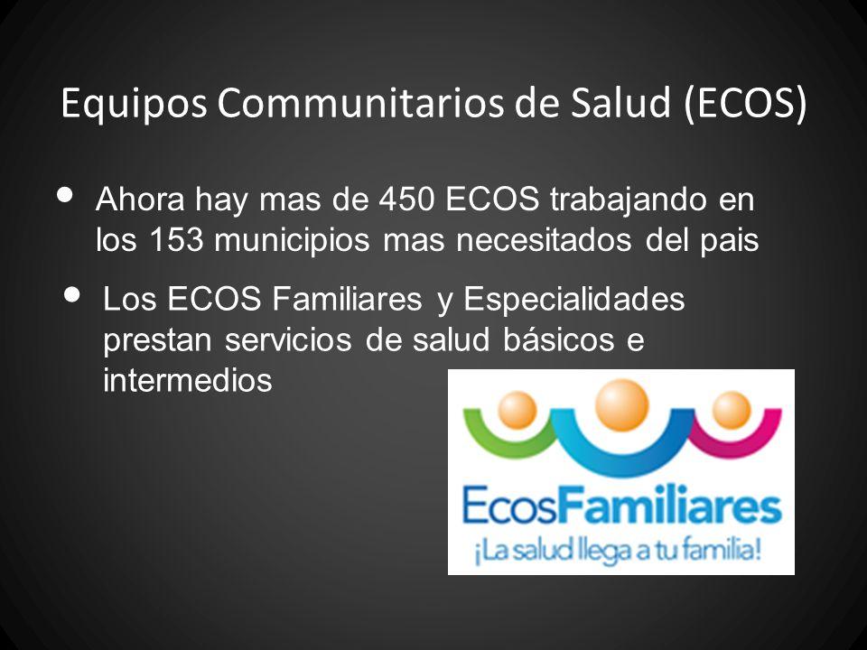 Equipos Communitarios de Salud (ECOS)