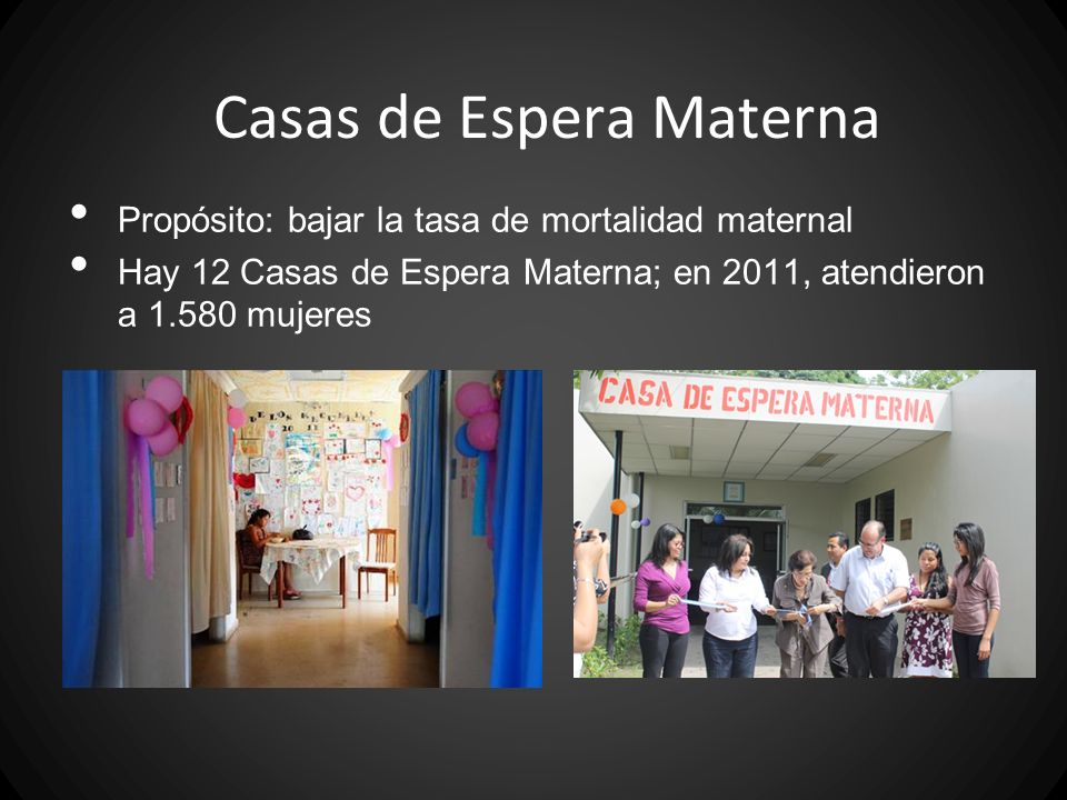 Casas de Espera Materna
