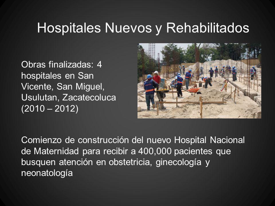 Hospitales Nuevos y Rehabilitados