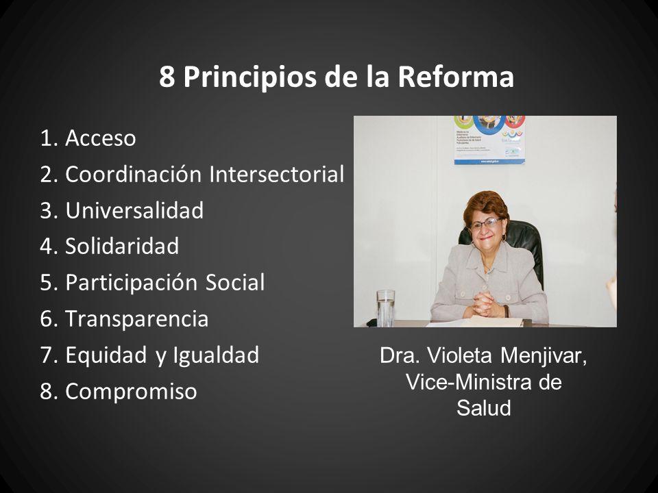 8 Principios de la Reforma