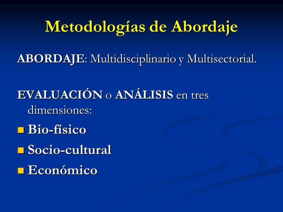 Metodologías de Abordaje