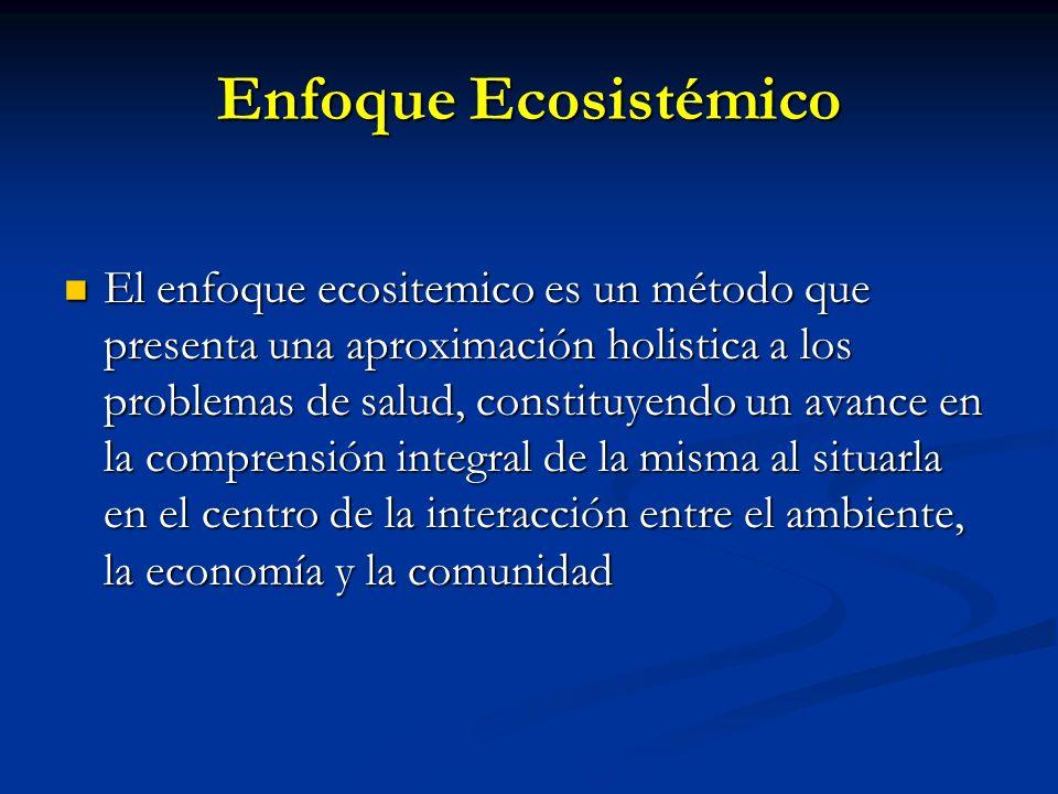 Enfoque Ecosistémico