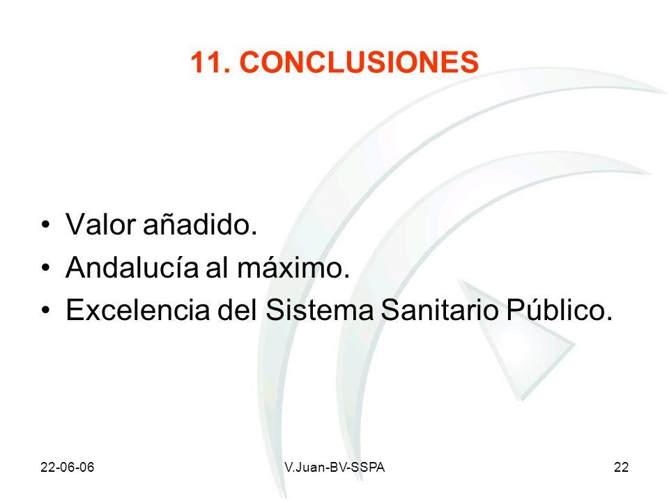 Excelencia del Sistema Sanitario Público.