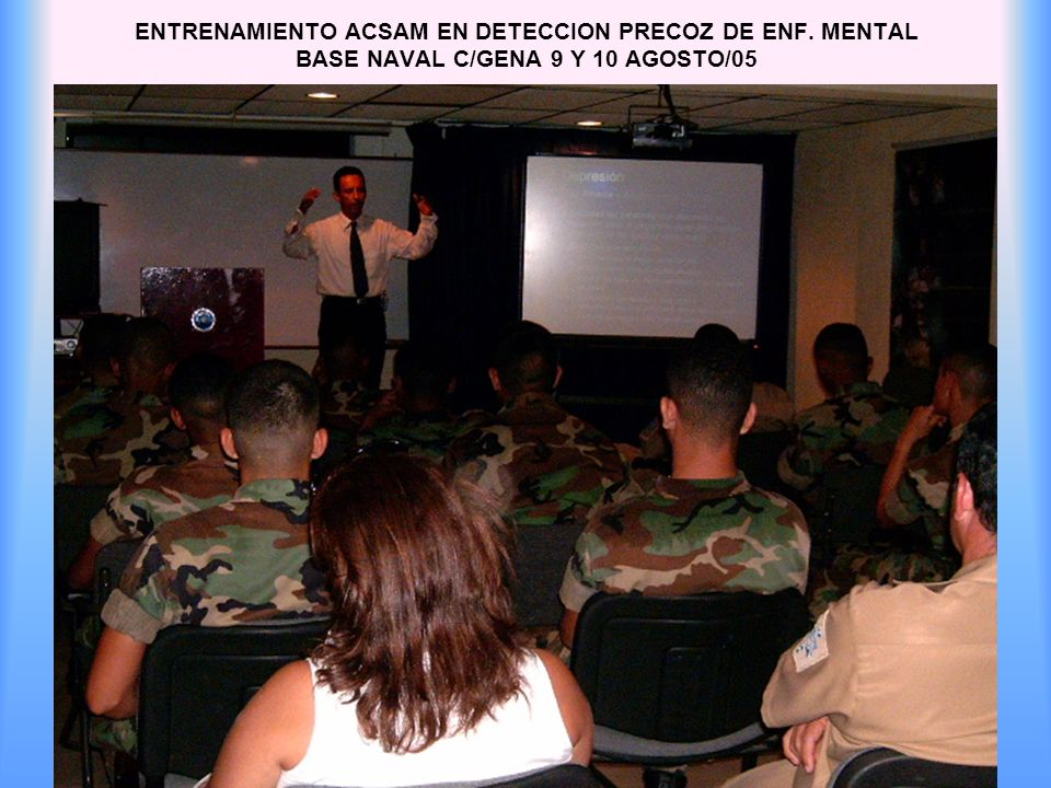 ENTRENAMIENTO ACSAM EN DETECCION PRECOZ DE ENF