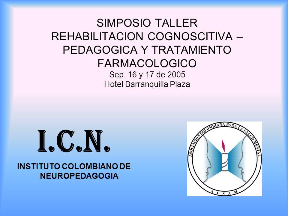 INSTITUTO COLOMBIANO DE NEUROPEDAGOGIA