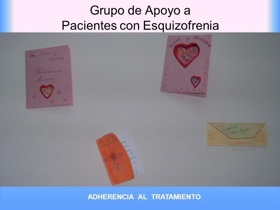 Grupo de Apoyo a Pacientes con Esquizofrenia