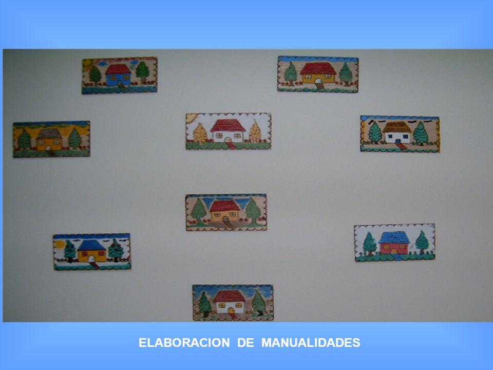 ELABORACION DE MANUALIDADES