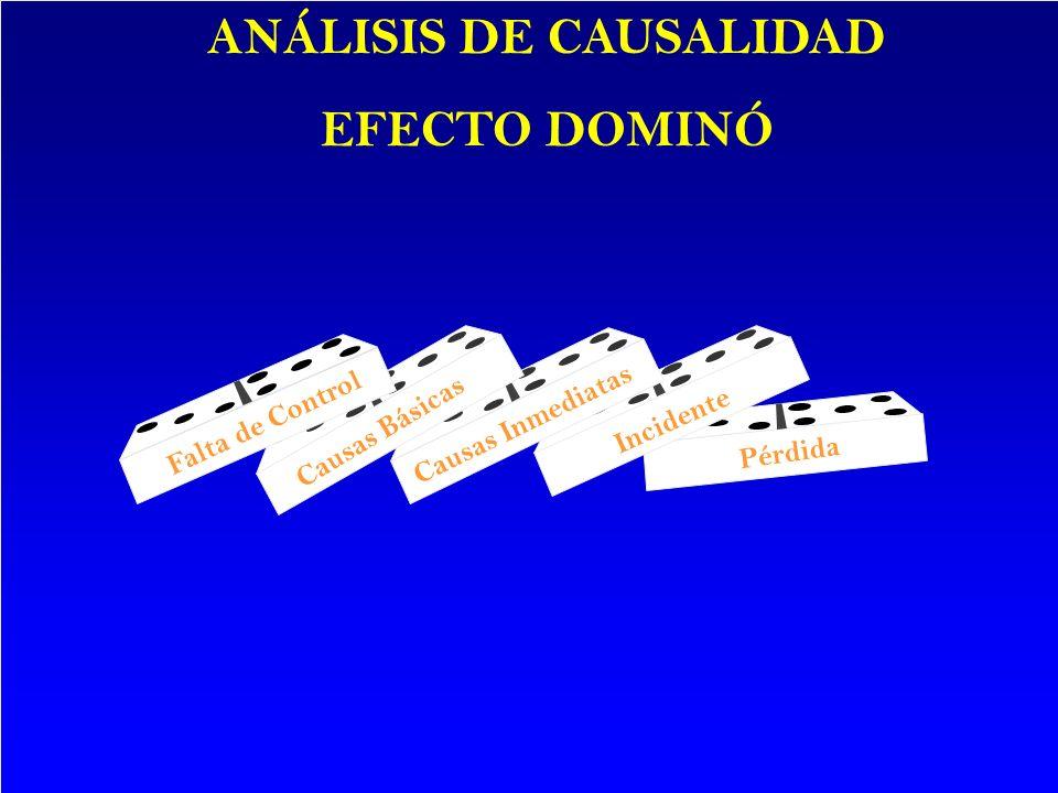 ANÁLISIS DE CAUSALIDAD EFECTO DOMINÓ