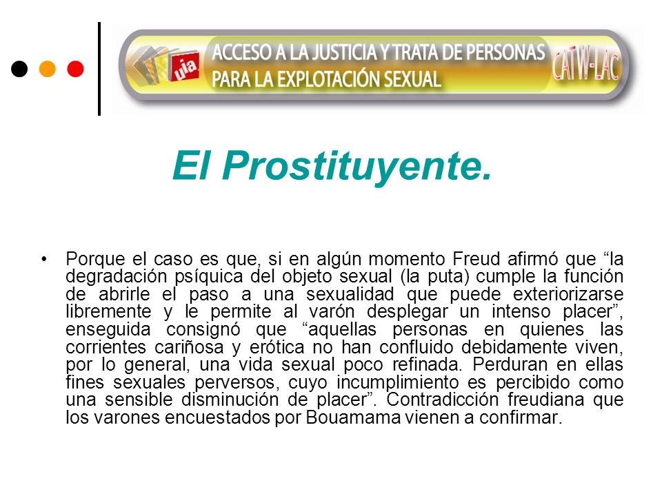 El Prostituyente.