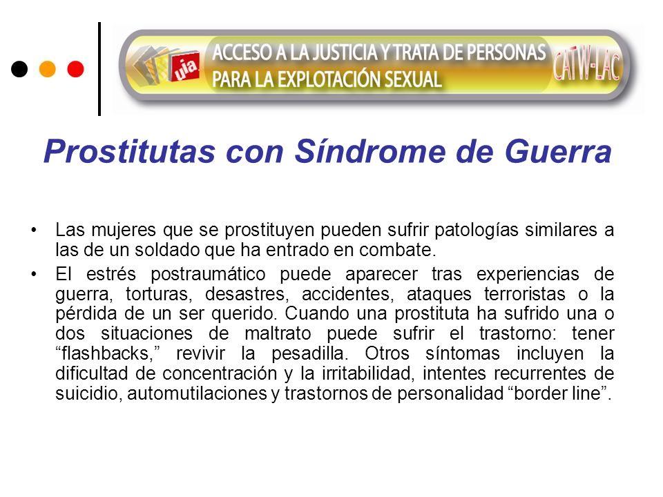 Prostitutas con Síndrome de Guerra
