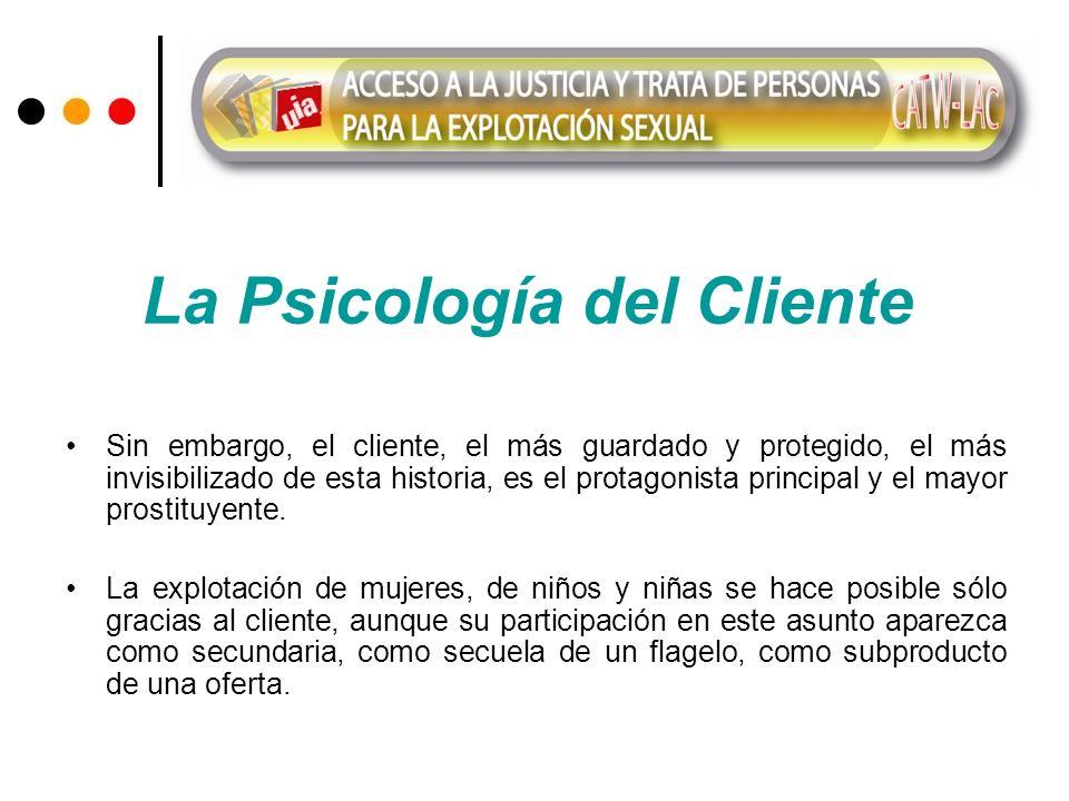 La Psicología del Cliente