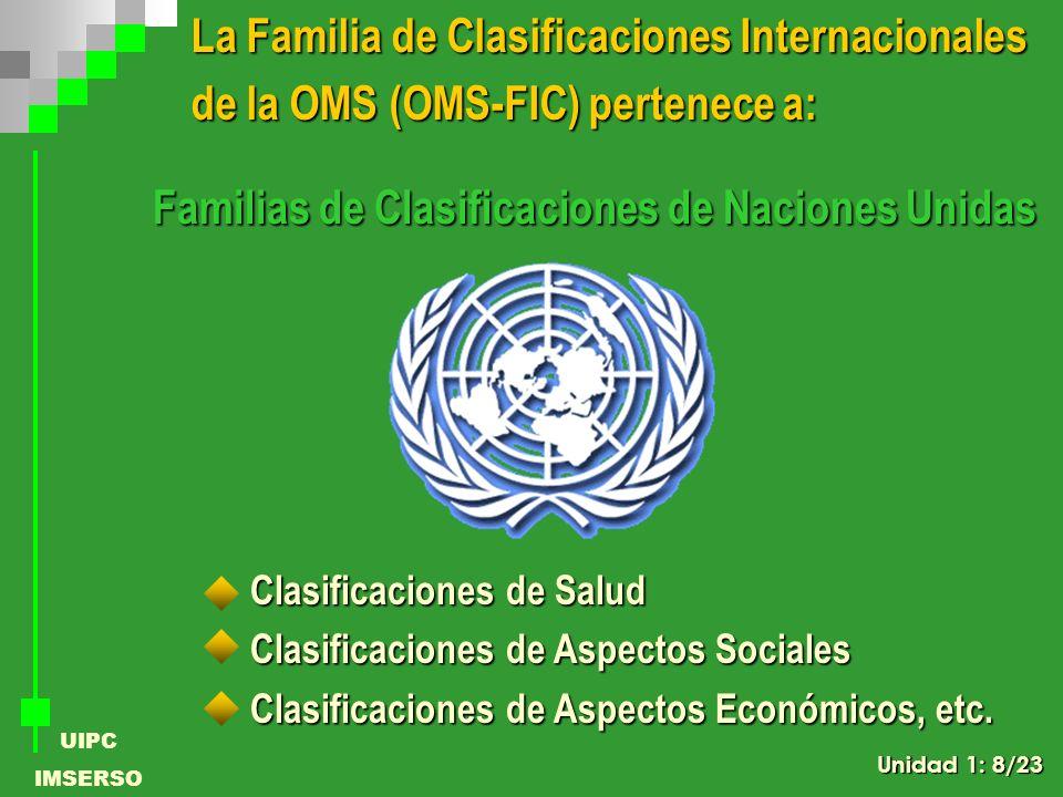 La Familia de Clasificaciones Internacionales