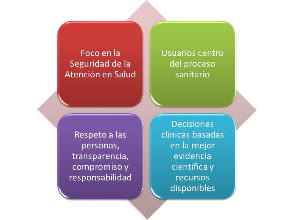 Foco en la Seguridad de la Atención en Salud
