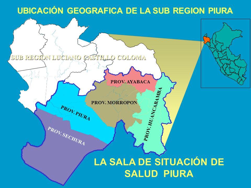 LA SALA DE SITUACIÓN DE SALUD PIURA