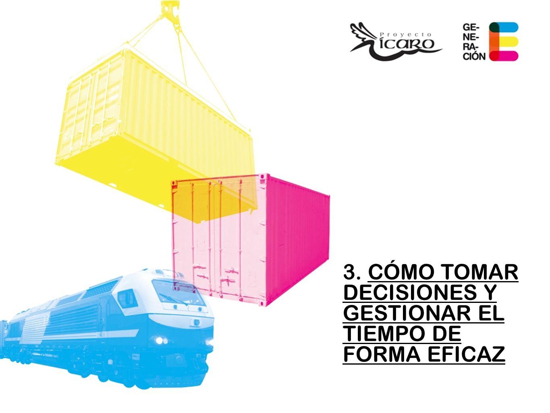 3. CÓMO TOMAR DECISIONES Y GESTIONAR EL TIEMPO DE FORMA EFICAZ