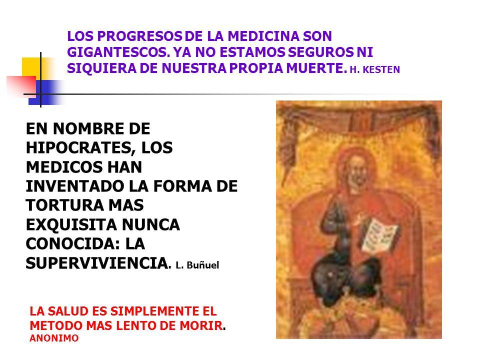 LOS PROGRESOS DE LA MEDICINA SON GIGANTESCOS