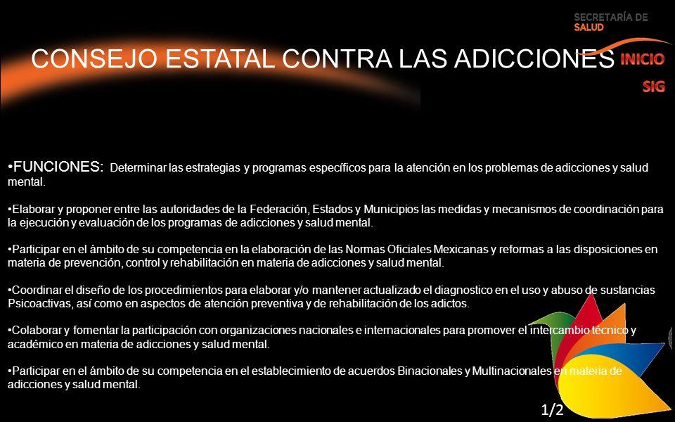 CONSEJO ESTATAL CONTRA LAS ADICCIONES