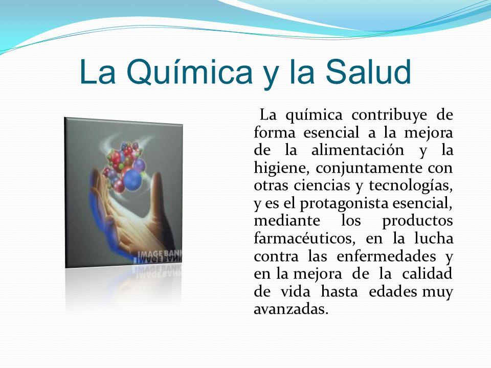 La Química y la Salud