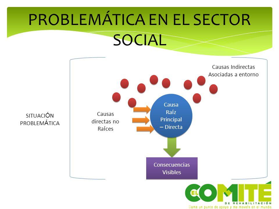 PROBLEMÁTICA EN EL SECTOR SOCIAL